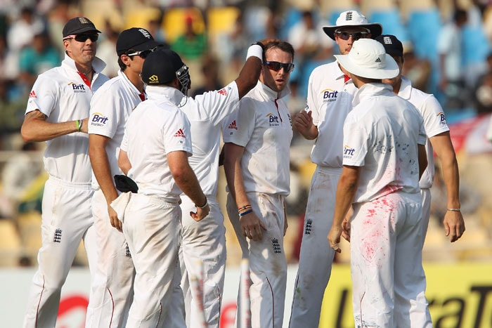 <b>England were better prepared:</b> The England team is one of the international teams that give most importance to Test cricket vis-à-vis other formats of the game. So it came as no surprise that they came here long before the series started, got acclimatised to the conditions. They look better prepared and with much more purpose. (Image Courtesy: BCCI)