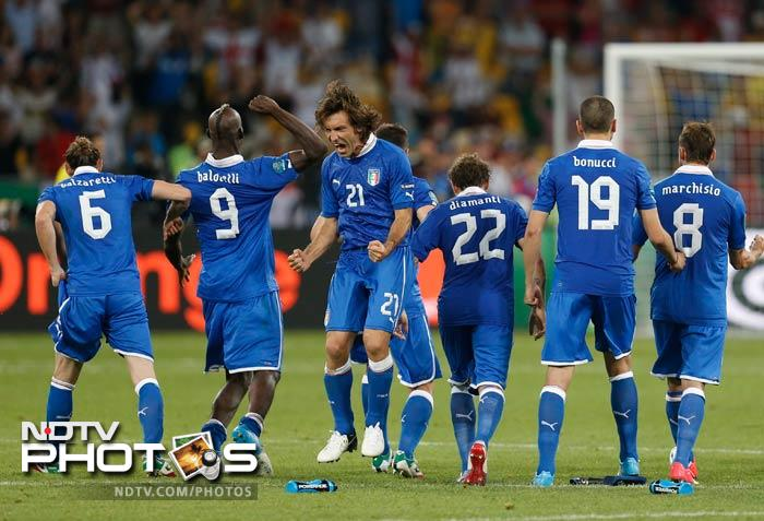 Both sides had failed to find the net in 120 minutes of play, though Italy had been unfortunate not to win it well before they prevailed 4-2 on penalties with playmaker Andrea Pirlo the standout performer.