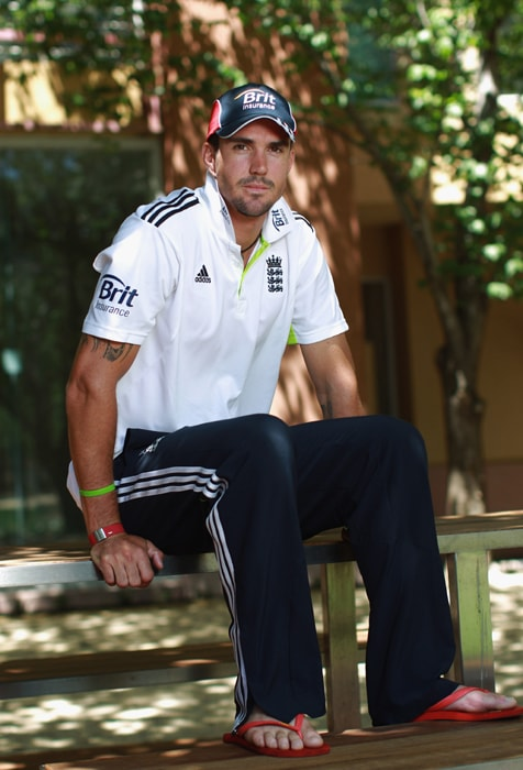 <b>KEVIN PIETERSEN</b><br><br> <b>Age: </b>30.<br><b>Role: </b>Right-handed batsman, Right arm off-spin<br> <b>Stats: </b>ODIs 110, Runs 3,517, Highest 116, Average 41.37, Strike-Rate 86.88, Centuries 7, Fifties 21, Catches 32, Wickets 7, Best Bowling 2-22, Average 41.28 Economy Rate 5.59<br><br> The squad's most talented batsman, England would love him to come good in India where he averages nearly 58. Can change course of innings with an array of strokes, his off-spin could be a factor too.(Photo: getty Images)