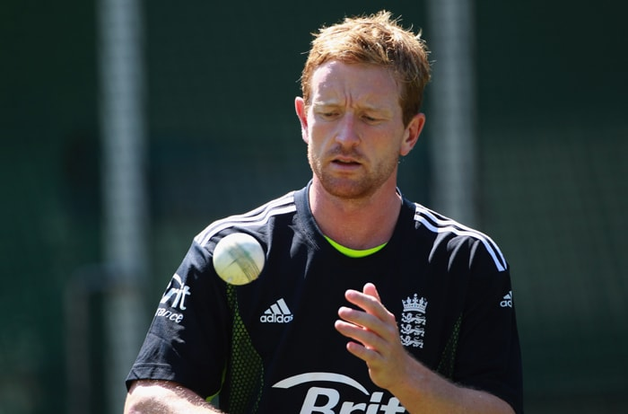 <b>PAUL COLLINGWOOD</b><br><br> <b>Age: </b>34.<br><b>Role: </b>Right-handed batsmam, Right-arm medium<br> <b>Stats: </b>ODIs 193, Runs 5,031, Highest 120no, Average 35.68, Strike-Rate 76.66, Centuries 5, Fifties 26, Catches 107, Wickets 110, Best Bowling 6-31, Average 37.98, Economy Rate 4.96<br><br> England's most-capped ODI player is nearing end of an illustrious international career after retiring from Tests in Australia. Has been struggling for runs of late and bowling can be hit or miss. But still England's best outfielder.(Photo: Getty Images)