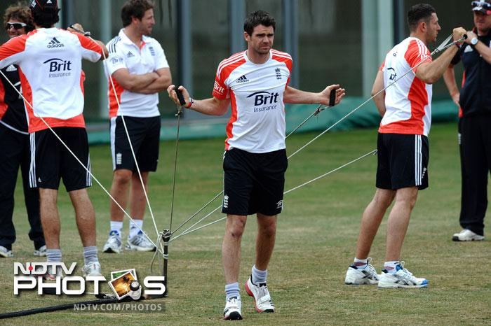 James Anderson, who demolished India in the second innings will be England's main man with the new ball. (AFP Photo)