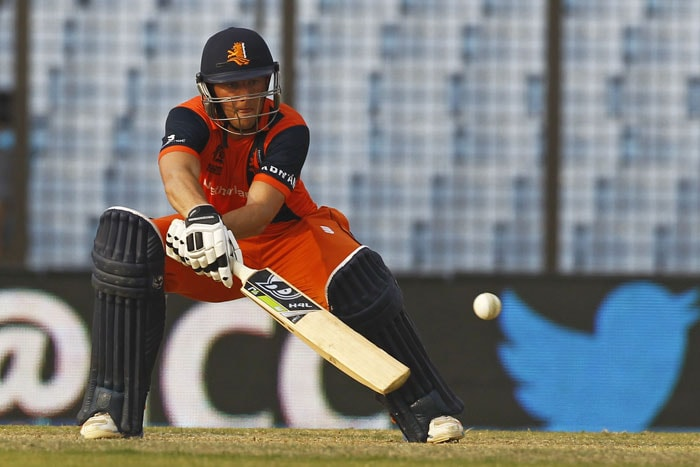 It was Wesley Barresi's knock of 48 that helped Netherlands to a decent total after Stuart Broad's 3/24 had ruined their good start.