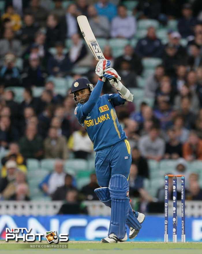 Mahela Jayawardene also got into the act with a brisk 42.