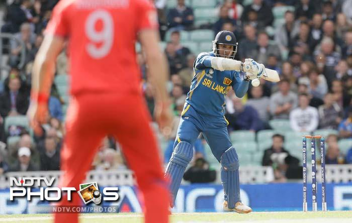 Kumar Sangakkara was the rock of the innings as he hit 134 not out and along with Nuwan Kulasekara who scored 58 not out, took Sri Lanka home with 7 wickets and 17 balls to spare.
