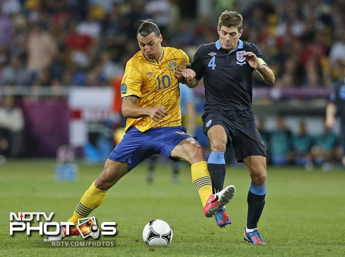 Steven Gerrard would be overjoyed to have won the battle of the skippers against his Swedish counterpart Zlatan Ibrahimovic.