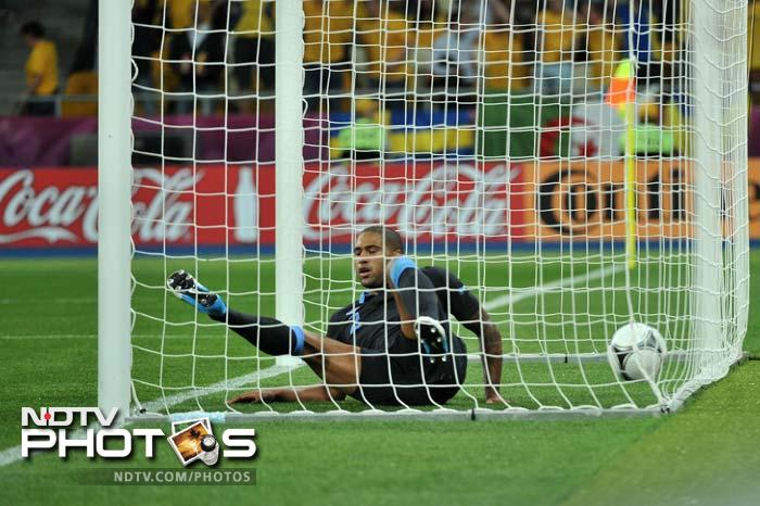 But an own goal from Glen Johnson on 49 minutes levelled the match for Sweden.