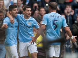 EPL: Manchester City rout Tottenham, Cardiff hold Manchester United