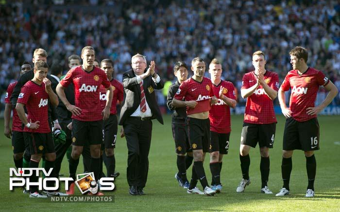 Sir Alex Ferguson bowed out as manager of Manchester United after 1500 games in charge with a thrilling 5-5 draw versus West Bromwich Albion.