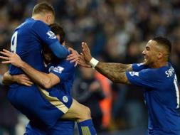 EPL: Jamie Vardy Sets New Record, Manchester City Top Table
