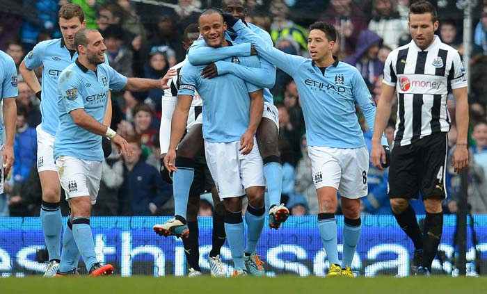 Manchester City registered a routine win against Newcastle. David Silva contributed to the 4-0 victory at home.