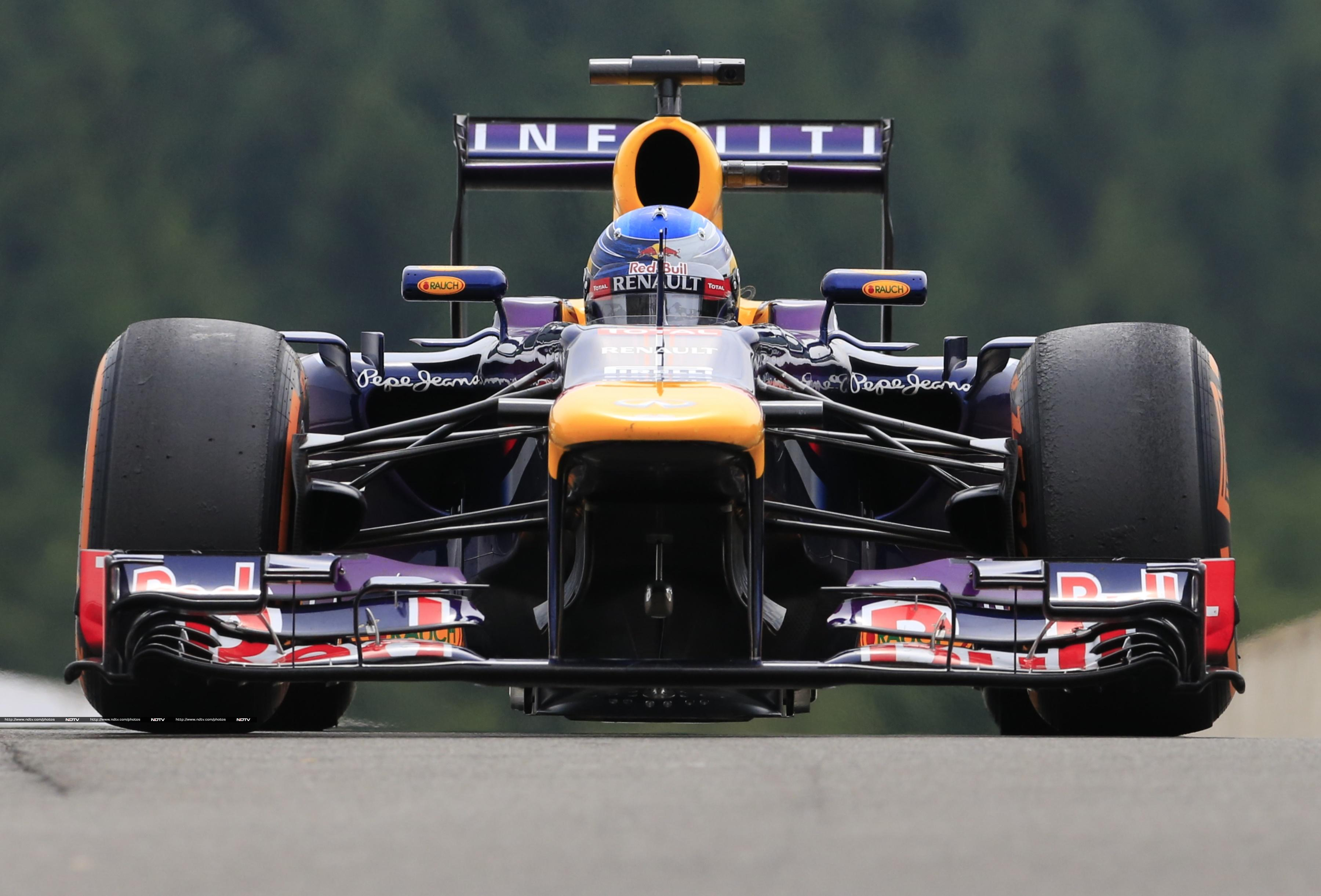 Sebastian Vettel had to finish a close second.