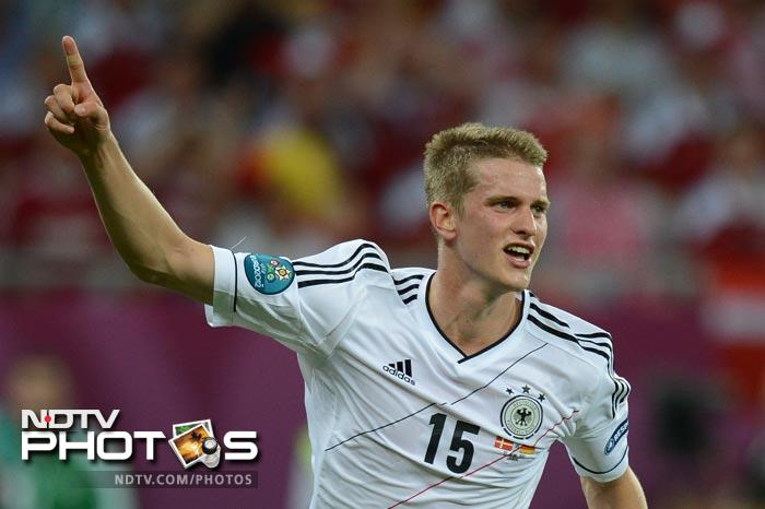 The deadlock was finally broken in the latter stages of the match. Defender Lars Bender scored his first international goal for Germany and what was to be the match winner. (AFP Photo)