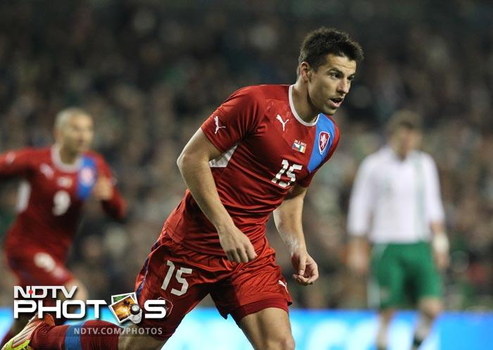 Milan Baros is still considered the Czech Republic's main striker. With his ability to score at crucial times he is a handful for the opposition. His 5 goals show that no team can take him lightly when he is in the zone.