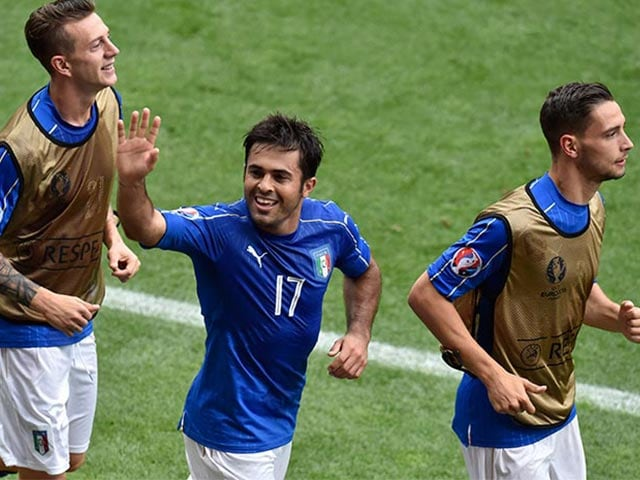 Euro 2016: Eder's Late Strike Helps Italy Defeat Sweden 1-0