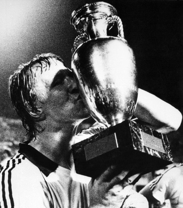 There were no hiccups by the West Germany side in 1980 after a disappointing 1976 Euro campaign. Horst Hrubesch scored a late winner to take West Germany home against Belgium. They had won their second European crown.