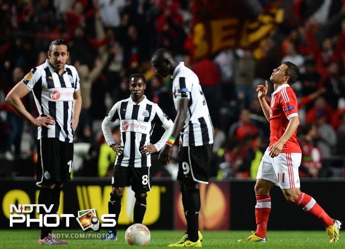 Newcastle are very much up against it in the second leg, following a 3-1 defeat to Benfica in Lisbon.