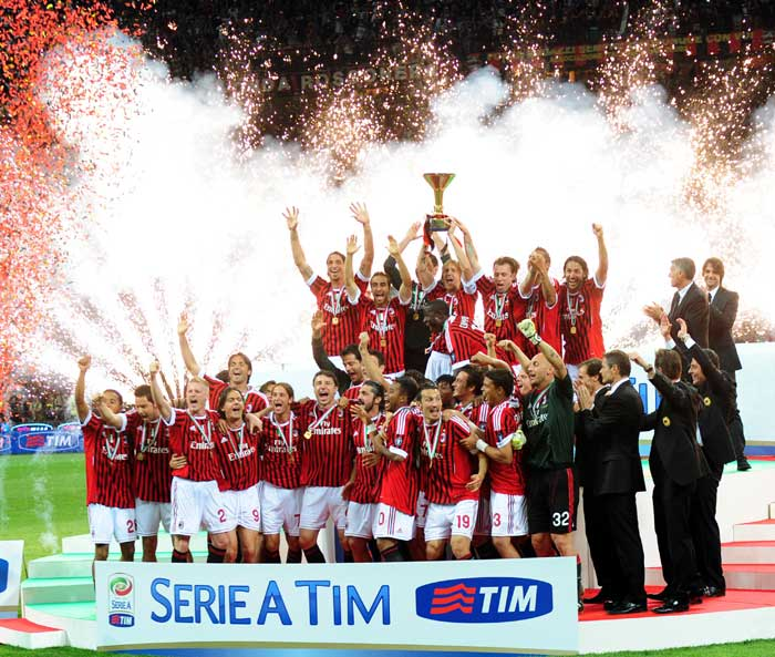 <b>AC Milan</b> <br><br> After battling through the claims of being an aging side, Milan finally struck a balance this season to finish as the Seri A champions in the 2010-11 season. With Robinho, Pato and Ibrahimovic finding their goal scoring touch, AC Milan acquired the throne of the Italian league.