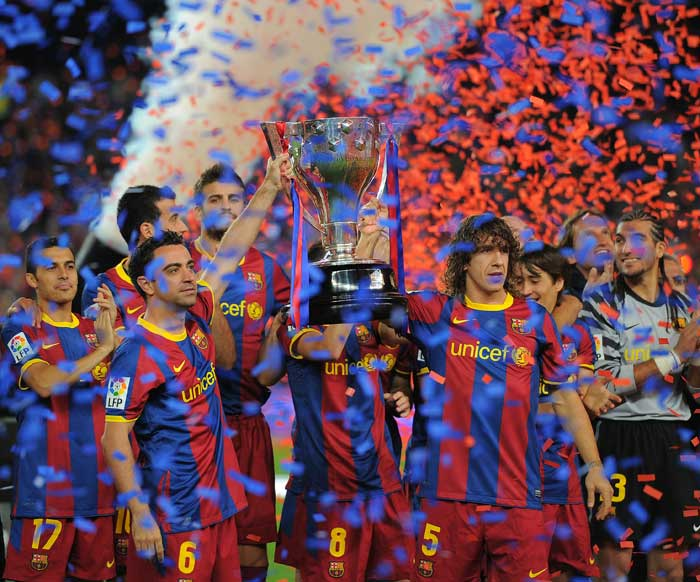 <b>Barcelona</b> <br><br> Widely credited as be the best club in the world, Barcelona secured the Spanish League title to top it with the Champions League. With their heavyweight signings failing to live up to their reputation, Barcelona looked towards their young Catalans to do the job. The young brigade lead by Bojan and Pedro have had the footsteps of Lionel Messi and Andres Iniesta to follow and they have responded quite brilliantly leading the Spanish side to yet another dominant season. The Catalans however, will have bitter memories of the Copa del Rey which they lost out to their rivals Real Madrid.
