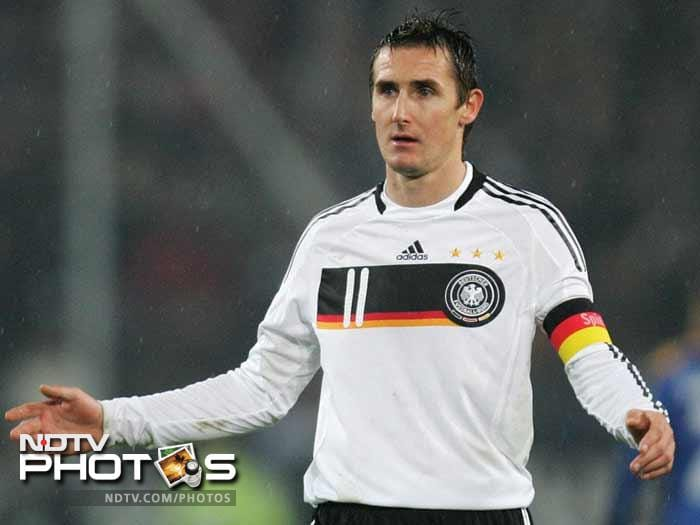 <b>Miroslav Klose (Germany):</b> Poland-born Germany striker Miroslav Klose will be looking to roll back the years at Euro 2012, as the evergreen veteran aims to claim his first major title. Klose turns 34 on June 9 when Germany open their Group B campaign against Portugal in Lviv. With 63 goals in 114 appearances for his country, Klose is just five short of Gerd Mueller's all-time record of 68 goals for Germany.