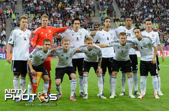 Germany were geared up to take on the Greeks to seal a semi final birth for themselves in this edition of Euro. (AFP Photo)