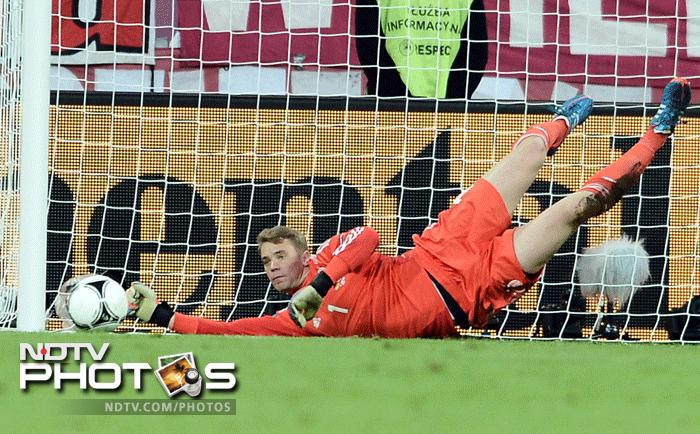 Greece applied the pressure early forcing Germany to make crucial saves. (AFP Photo)