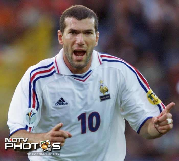 <b>Zinedine Zidane (France)(2000):</b> Zidane proved his World Cup heroics were no flash in the pan scoring two crucial goals in the European competition. He scored in the quarters against Spain and then the golden goal in the semi-final against Portugal. For his consistency in the midfield and ability to create chances out of nowhere he was adjudged the Player of the Tournament.