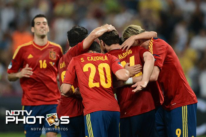 It was in the end a well deserved win for the Spaniards. The French definitely promised a lot but couldnt convert it into performance. They go home and the defending champions have a date with Portugal in the semi finals. (AFP Photo)