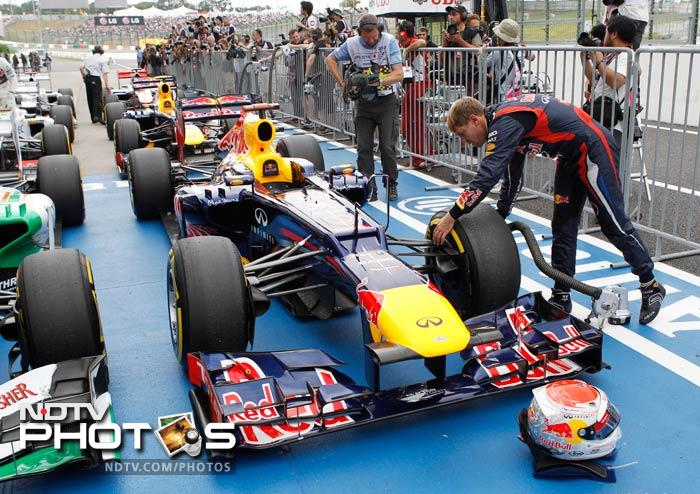 Sebastian Vettel will need those gears to cool down rightly as he looks to keep his title for a second year running.
