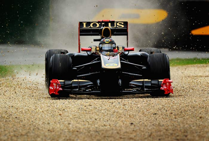 Nick Heidfeld(Germany) of Renault will start in 18th spot. (Getty Images)