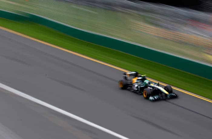 Heikki Kovalainen(Finland) will start in 19th position in his Lotus. (Getty Images)