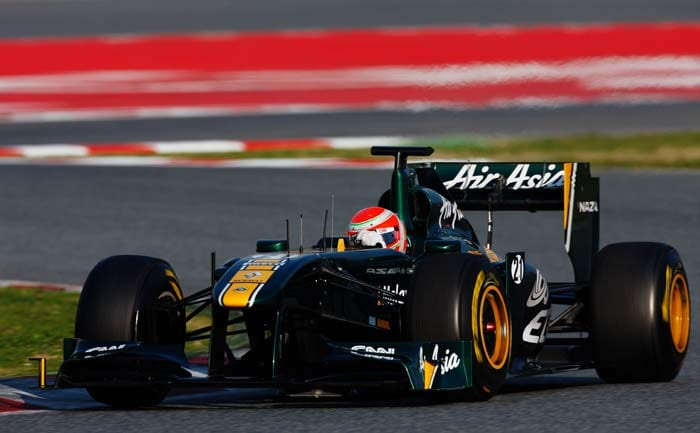 Jarno Trulli(Italy) will start in 20th position in his Lotus. (Getty Images)