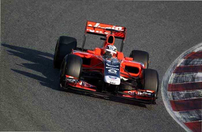 Jerome d'Ambrosio(Belgium) of Virgin Racing will start in 22nd spot. (Getty Images)