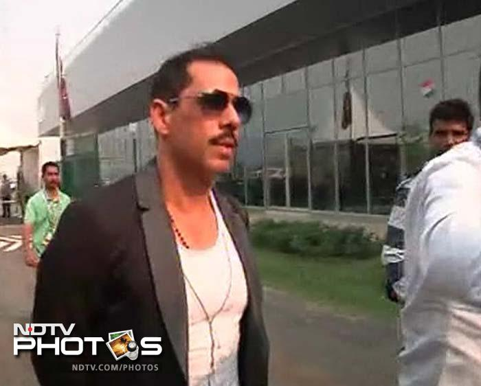 Robert Vadra is the son-in-law of Congress President Sonia Gandhi.