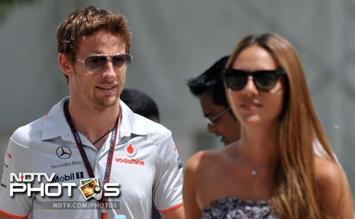 <b>Jessica Michibata:</b> 2009 world champion Jenson Button has been dating Japanese lingerie model Jessica Michibata for over two and a half years. She accompanies the McLaren driver to most of his races. Button previously dated and was engaged to actress and singer Louise Griffiths before ending their five year relationship in May 2005.