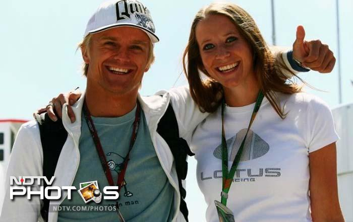 <b>Catherine Hyde:</b> Team Lotus driver Heikki Kovalainen's British girlfriend has studied sports psychology which could definitely come in handy in a sport where mental strength could sometimes prove the difference between victory and defeat.