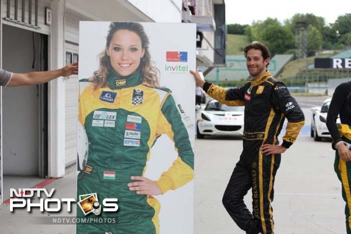 Formula One is one of the most glamorous sports in the world and many drivers are known to live a playboy lifestyle. Pretty pit babes or grid girls can be spotted in plenty but there are also many wives and girlfriends of the drivers who make their presence felt on the circuits. Here's a look at the F1 WAGs...