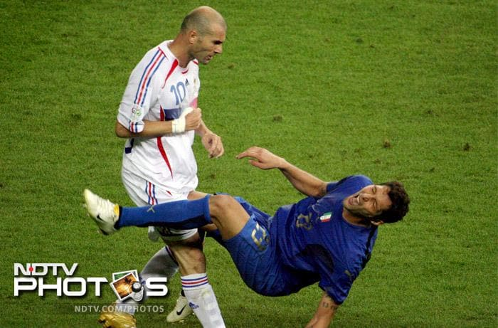 <b>Marco Materazzi:</b> This Inter-Milan and Italy player has gone down as the man who single-handedly made one of the calmest players - Zidane - lose his cool. Even before being head-butted down though, Materazzi was known for tackles which resembled ancient oriental war moves more than contemporary defending techniques. Years active: 1993 - present