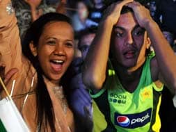 Photo : Fans' emotions when India took on Pakistan