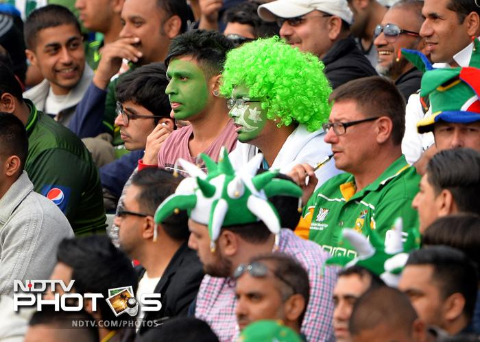 Pakistan lost the match by 67 runs and skipper Misbah later blamed batsmen for the defeat. <br><br> Click on for more images of fans from Champions Trophy.
