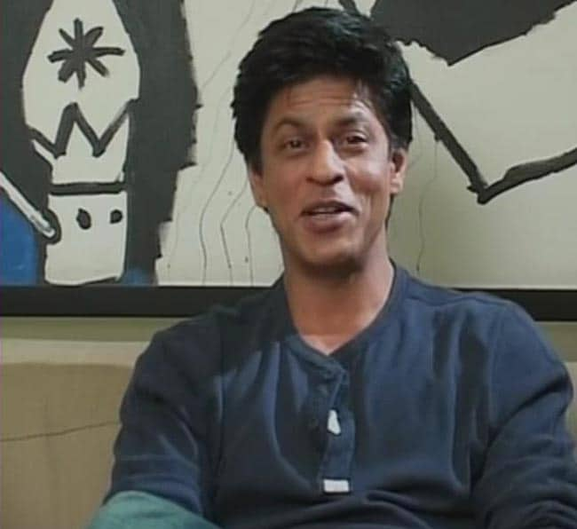 A 'big, blue Indian heart'- that's all it takes to make a World Champion, says SRK.