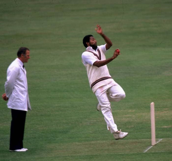 <b>Andy Roberts:</b> In the same match, Windies great Andy Roberts almost matched Thompson with the speed of 159.5. (Getty Images)