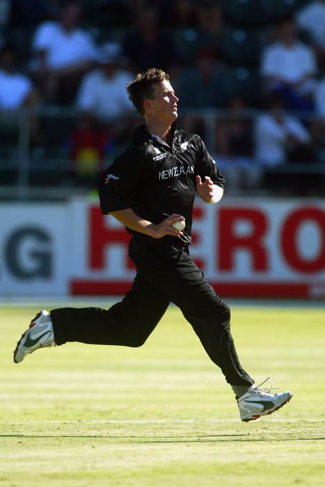 <b>Shane Bond:</b> One of the best pacers in the world, Shane Bond clocked 156.4 during the 2003 ICC World Cup. (Getty Images)