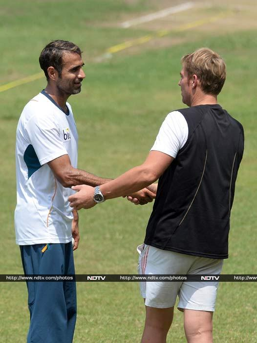 He is believed to have shared tips with the players - with spinner Imran Tahir specifically. <br><br>In conditions where spinners are expected to play a major role, it may well tip the balance in favour of the Proteas.