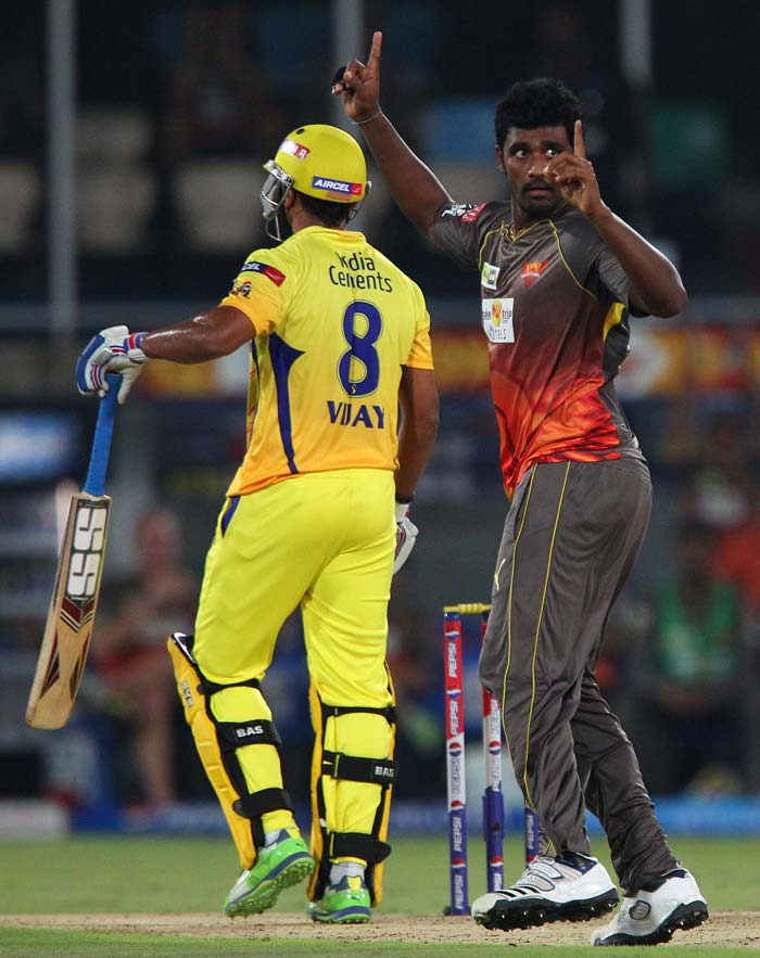 But Thisara Perera removed him to pick up the first of his 3 wickets. (BCCI Image)