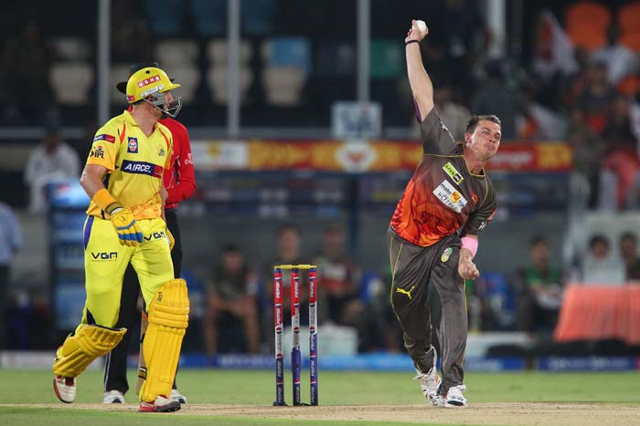 Dale Steyn gave away just 17 runs in four overs as Chennai posted a huge 223/3. (BCCI Image)