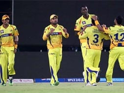Photo : Chennai inflict first home defeat on Hyderabad this season