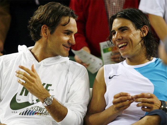 <b>Federer vs Nadal</b>: Federer and Nadal have been playing each other since 2004 and their rivalry is a significant part of both men's careers. Nadal leads their head-to-head 17–8. Because tournament seedings are based on rankings, 16 of their matches have been in tournament finals, including an all-time record 8 Grand Slam finals. From 2006 to 2008 they played in every French Open and Wimbledon final, and then they met in the 2009 Australian Open final. After a hiatus of almost two years, the two greats met in the final of French Open in 2011, which Nadal won 7-5, 7-6, 5-7, 6-1. Following Nadal's historic Wimbledon win in 2008, Federer was dethroned from the No. 1 spot. The two players, who are great friends off the court and have tremendous respect for each other, have given tennis rivalry a new definition.