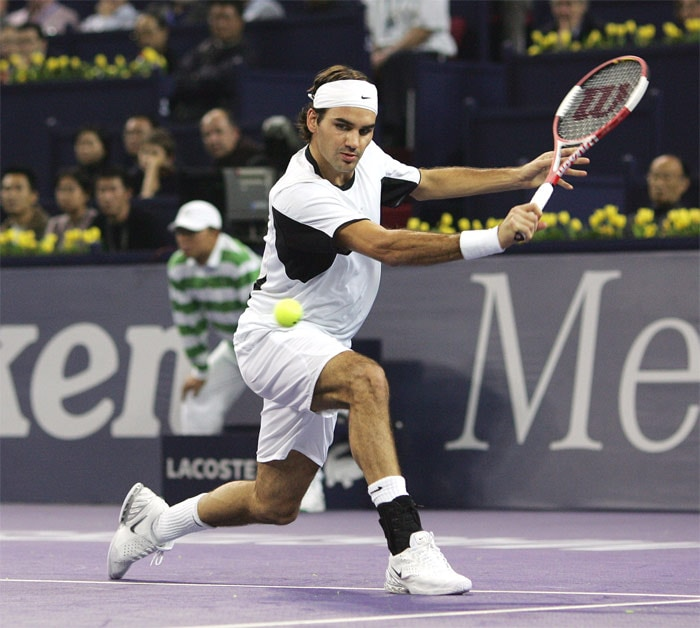 """<b>Playing style</b>: Federer's versatility was epitomised by Jimmy Connors' statement: """"In an era of specialists, you're either a clay court specialist, a grass court specialist, or a hard court specialist...or you're Roger Federer."""" Federer is an all-court player known for his fluent style of play and shot making. Federer mainly plays from the baseline but is also comfortable at the net being one of the best volleyers in the game today. David Foster Wallace described Federer's exceptional speed, fluidity and brute force of his forehand motion as """"a great liquid whip"""", while John McEnroe has referred to Federer's forehand as """"the greatest shot in our sport"""". (Wikipedia)"""