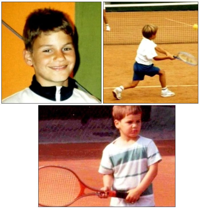 """Reflecting on his childhood, he said, """"I liked tennis the best of all sports. It was always exciting and winning or losing was always in my hands."""" (Wikipedia)"""