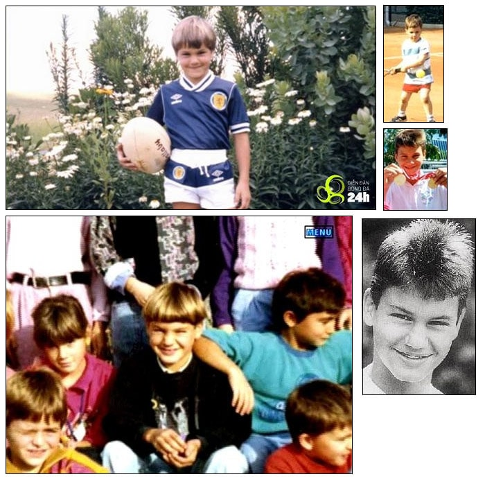 He played football until the age of twelve when he decided to focus solely on tennis. At fourteen, he became the national champion of all groups in Switzerland and was chosen to train at the Swiss National Tennis Center in Ecublens. (Wikipedia)